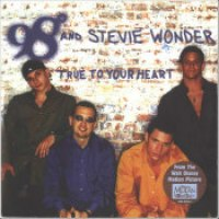 "98 Degrees & Stevie Wonder - ""True To Your Heart"""